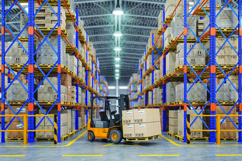 Warehousing & Distribution, domestic distribution